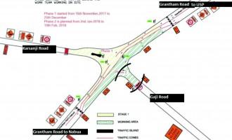Gaji Road Entry From Grantham Road Closed Till Feb 10