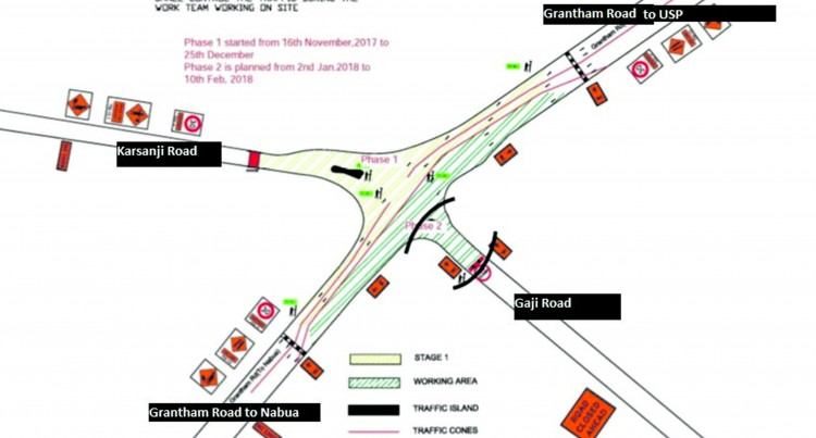 Gaji Road Entry From Grantham Road Closed Till Feb 10