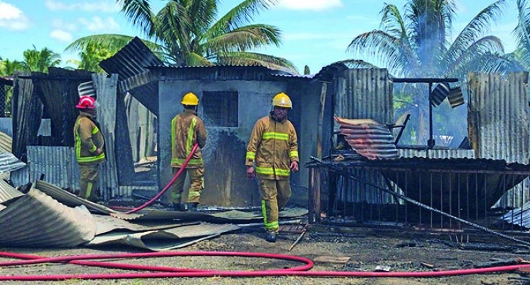 Navosai Taxi Driver Loses  Family Home In Fire