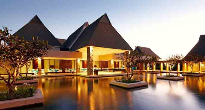 InterContinental hotel at Natadola Bay in Nadi. Photo: PGA Australia.