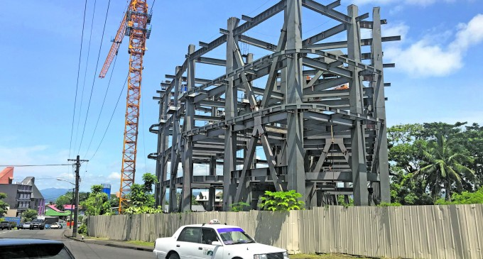 Construction Boom in the Capital City