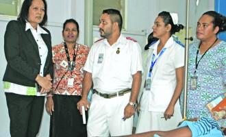 Akbar Visits Labasa's Dengue Hub Centre