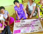 Donation Boosts  Catering  Business For  Women's Club