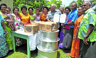 Government Donates Utensils To Naqelekula Divisional Bible School