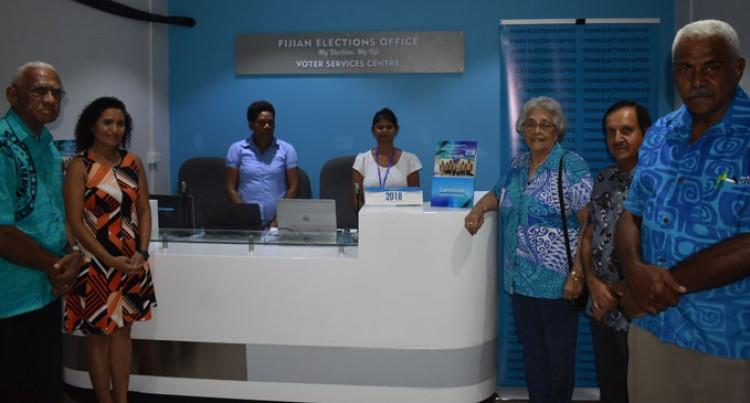 Elections Office Sets Up Voter Service Centre in Nadi town