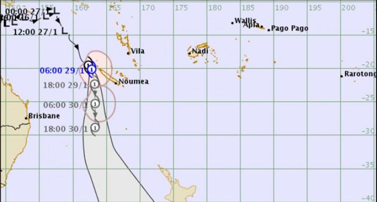 First cyclone named 'Fehi' for 2017/18 season