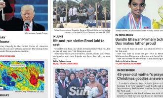 Fiji Sun's Top Online Reports Of 2017