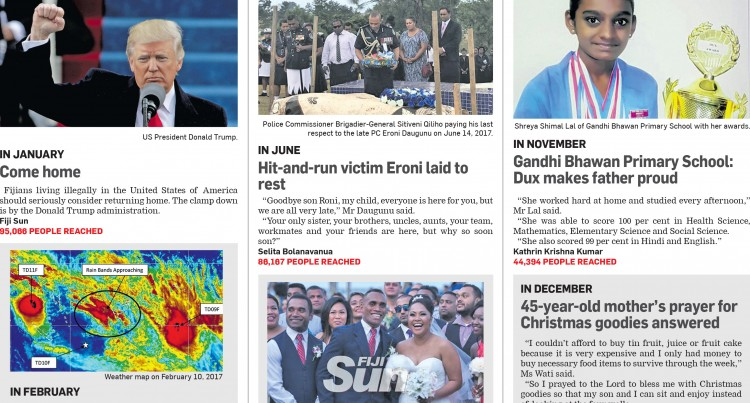 Fiji Sun's Top Online Reports Of 2017