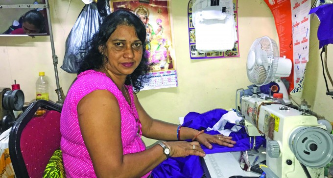 Tailor Devi Goes Solo To Support Family