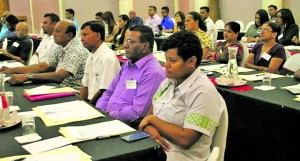 Stakeholders at the national consultation in Nadi last year.   Photo: REALB