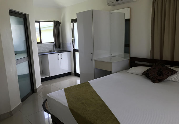 One of the units in the Bayview Cove Health Resort.  Photo: Lusiana Banuve