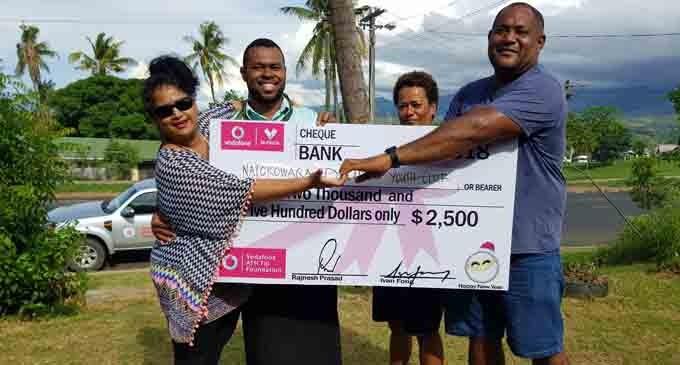 Natokowaqa youth club applaud Vodafone  ATH grant