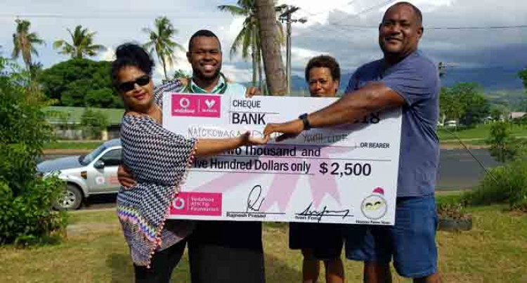 Natokowaqa youth club applaud Vodafone  ATH grant