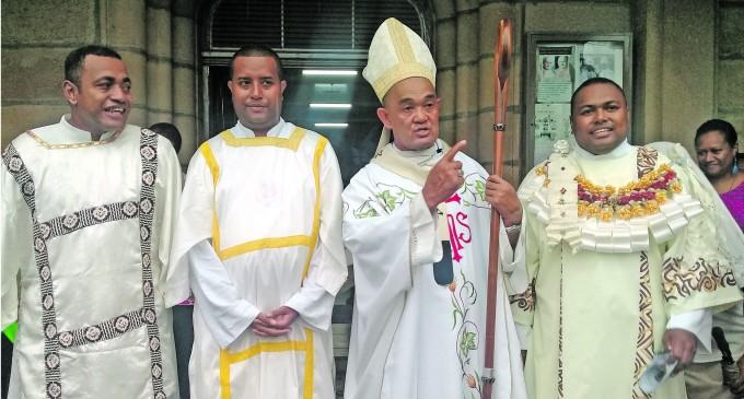 Deacons Bolster Catholic Church