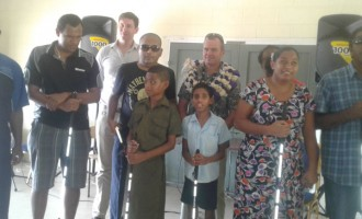 Feakes Hands Over 200 Canes To Assist The Blind And Visually Impaired