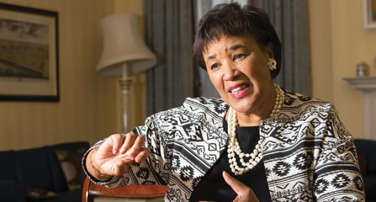 Baroness Patricia Scotland Here For Big Education Conference