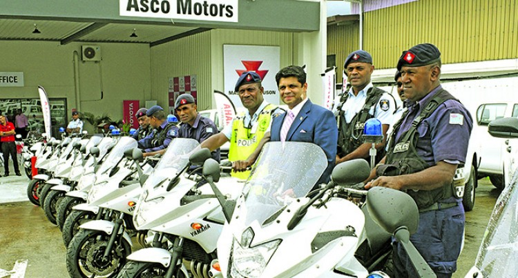 Motorcycles Will Boost Police Visibility: SSP Mishra