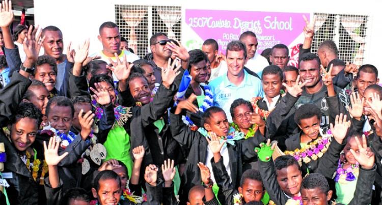 Students meet 7s heroes