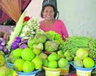 Vendor's Takings Help Ease  Husband's Burdens
