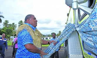 Labasa Airport Gets New Fire Truck