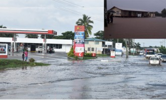 Deluge Swamps 20 Houses In Lomawai Village