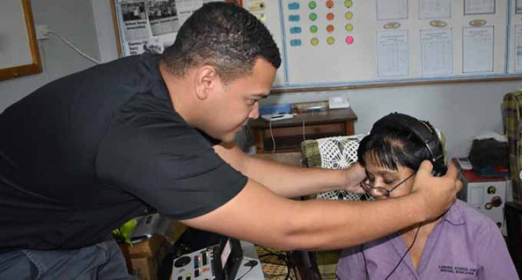 Labasa Special School Gets Ear Health Screenings