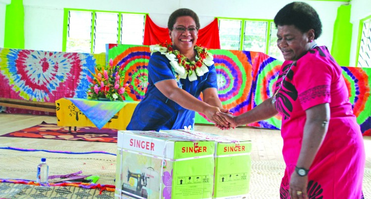 Two Naitasiri Women Groups Get Sewing Machines