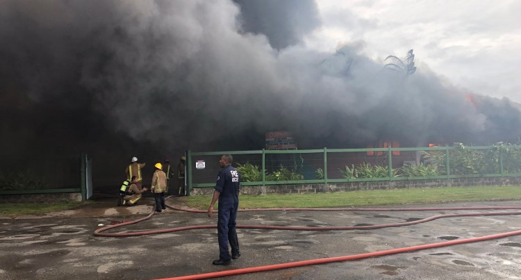 Jannif Grateful Staff Are Safe After Fire Destroys Raiwai Warehouse, Workshop