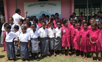 School Bags And Stationery Donated To Two Schools In Ono-i-Lau