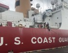 US Coast Guard Polar Star berths at Suva Port