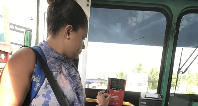 Disposable e-Transport cards must be available in all buses