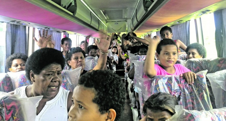 Bus Company Helps The Needy