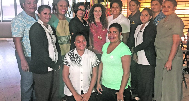 Resort Reps Trained on Pure Fiji Spa Products