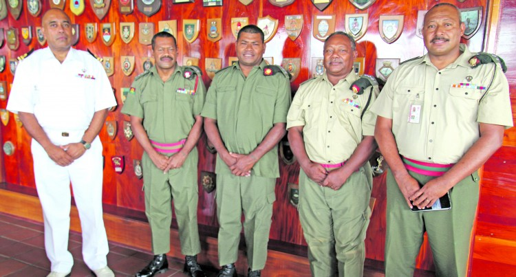 Naupoto Welcomes Five Officers