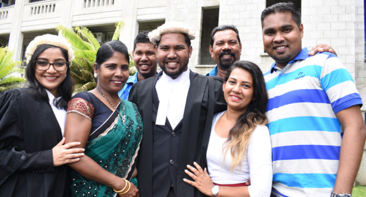 Spiritual Discipline Key To Success, Says New Lawyer
