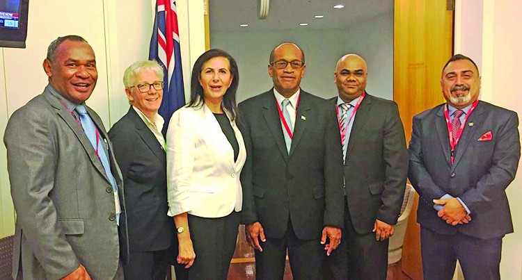 Usamate meets Aust Minister to discuss increase of Fijian workers