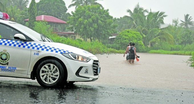 Heavy Downpour Sees Houses Flooded, Crossing Under Water