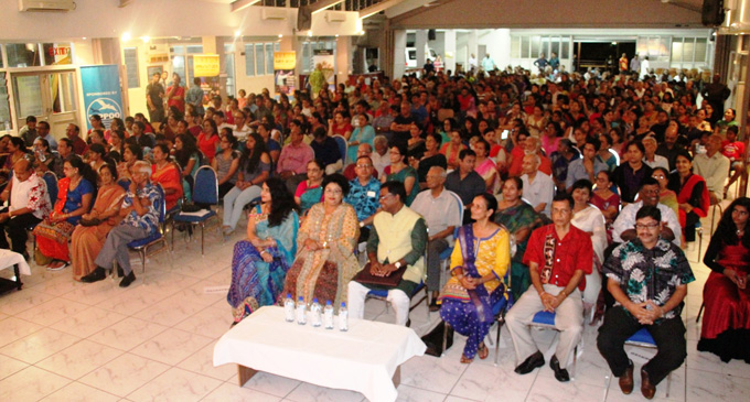 Namaste Pacifika festival guests in Suva on February 16, 2018. Photo: Ministry of Women, Children and Poverty Alleviation