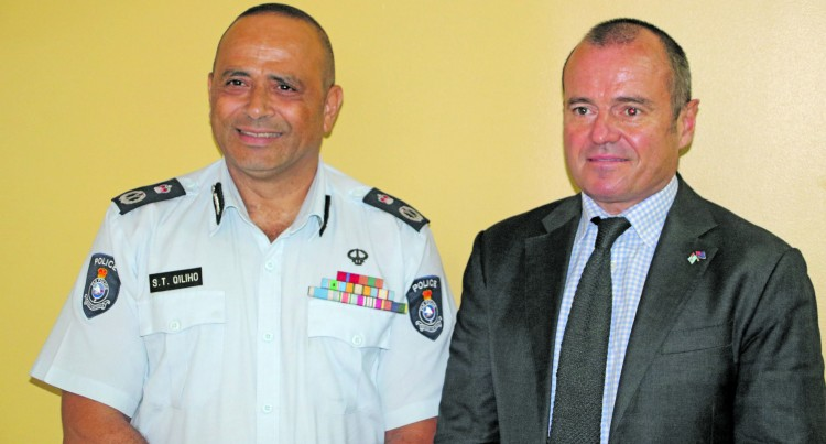 Australian High Commissioner  visits Police Commissioner