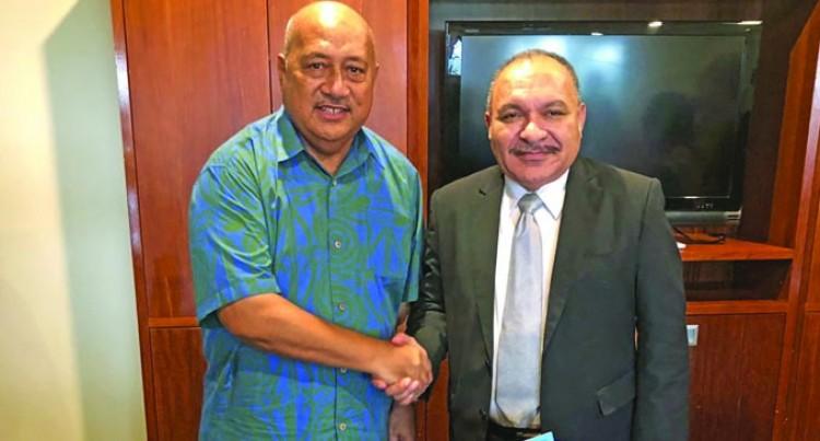 Ratu Inoke meets PM O'Neill