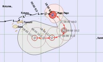 TD08F Tracks Back To Fiji, TD07F Named TC Gita