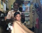 Barber Khan prefers old way