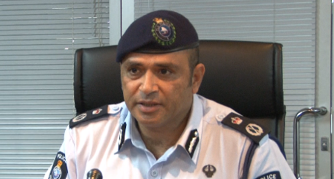 Police Commissioner Hospitalised Following a R