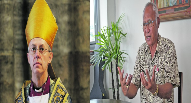 Climate Change High On Agenda For Archbishop Of Canterbury's Visit Here