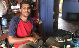 Kumar Thankful For Govt Scheme In Saving His Shoe Shop Business