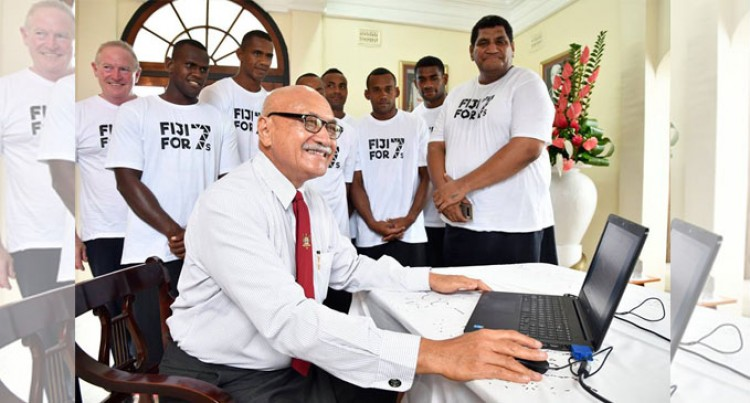 Support Fiji 7s Bid