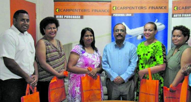 Carpenters Finance Rewards Loyal Customers
