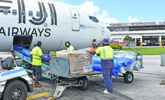 Five Tonnes of Relief Supplies from Fiji Reach Tonga