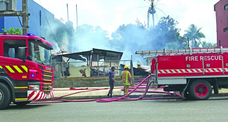 Fire Leaves About 50 Without Workplace