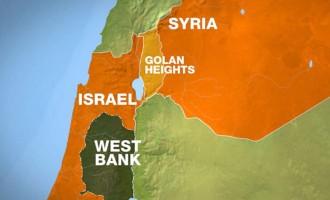 Red Alert In Golan